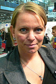 Foto de l'autor. Credit: Hannibal (Wikipedia user), Gothenburg Book Fair 2007
