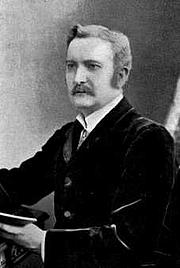 Foto do autor. Alfred Percival Graves. Wikimedia Commons.