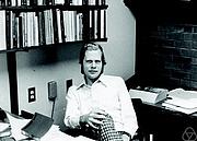 Författarporträtt. Gerald Folland. Photo by Konrad Jacobs.