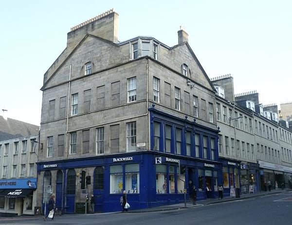 Blackwell Bookshop South Bridge in Edinburgh, Scotland   LibraryThing Local
