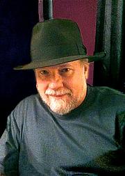 Author photo. Author Mark Tiedemann, at Archon 35 in St. Louis, 2011 [credit: Elonka]