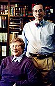 Author photo. with Wayne G. Hammond