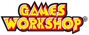 "Fotografia de autor. Games Workshop logo By Games Workshop - Games Workshop web, Public Domain, <a href=""https://en.wikipedia.org/w/index.php?curid=58754914"" rel=""nofollow"" target=""_top"">https://en.wikipedia.org/w/index.php?curid=58754914</a>"