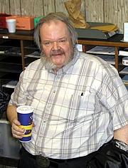 Författarporträtt. Jack L. Chalker (by Patti Kinlock, 2003)