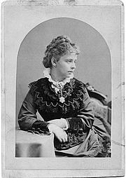 Foto de l'autor. Alice Morse in 1873, aged 22.