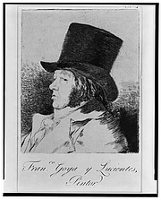 Forfatter foto. Francisco José de Goya y Lucientes (1746–1828)