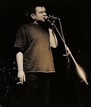 Forfatter foto. concert in Nowa Sola, February 7, 1997