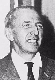 Foto do autor. Ángel Rosenblat in 1957
