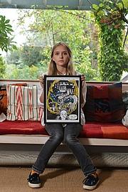Kirjailijan kuva. Isabel Greenberg