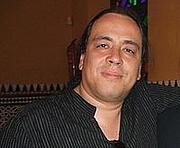 Author photo. El escritor Juan Carlos Méndez Guédez en Sevilla (2008)