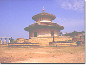 Forfatter foto. The Kalidas Smarak, Ramtek, Maharashtra, India. Photo from the Nagpur District Gazetter via Wikimedia Commons.