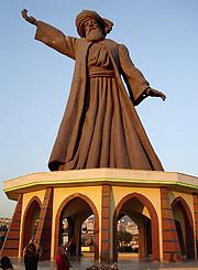 Forfatter foto. Statue of Rumi in Buca, Turkey