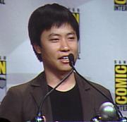 Författarporträtt. Eisner Awards (Best Cover Artist), San Diego Comic-Con 2007, by Lampbane