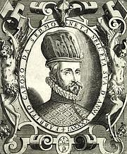 "Forfatter foto. Frontispiece from Caroso's work ""Nobiltà di Dame"""
