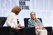 "Kirjailijan kuva. U.S. Supreme Court Justice Ruth Bader Ginsburg speaks on the Main Stage of the National Book Festival, August 31, 2019. Photo by Shawn Miller/Library of Congress.By Library of Congress Life - 20190831SM0414.jpg, CC0, <a href=""https://commons.wikimedia.org/w/index.php?curid=82899223"" rel=""nofollow"" target=""_top"">https://commons.wikimedia.org/w/index.php?curid=82899223</a>"