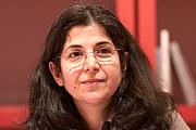 """Author photo. La sociologue Fariba Adelkhah lors du Salon du livre de Paris pour un débat sur l'Iran avec l'auteur Vincent Hugeux autour de son essai Iran, l'état d'alerte. By Georges Seguin (Okki) - Own work, CC BY-SA 3.0, <a href=""""https://commons.wikimedia.org/w/index.php?curid=9900335"""" rel=""""nofollow"""" target=""""_top"""">https://commons.wikimedia.org/w/index.php?curid=9900335</a>"""