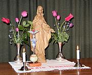 Autoren-Bild. Altar of the Legion of Mary.  Photo by F. P. Hollabrunn / Wikimedia Commons.