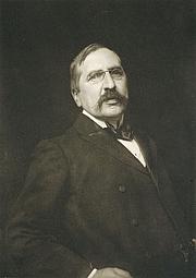 Fotografia de autor. Portrait photograph of Joseph Gleeson White by Frederick Hollyer, published in Die Kunst in der Photographie, 1897