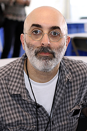 "Author photo. Author Eduardo Halfon at the 2018 Texas Book Festival in Austin, Texas, United States. By Larry D. Moore, CC BY-SA 4.0, <a href=""https://commons.wikimedia.org/w/index.php?curid=74326625"" rel=""nofollow"" target=""_top"">https://commons.wikimedia.org/w/index.php?curid=74326625</a>"