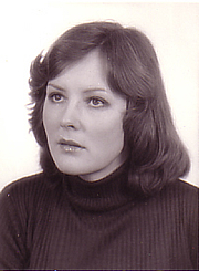 Author photo. Barbara Adams, ca. 1980 [credit: R. Friedman]