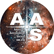Author photo. AAS logo
