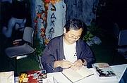 Foto do autor. 1998 San Diego ComicCon. (c) T. Hedden