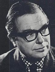 Författarporträtt. Christopher Hibbert circa 1974