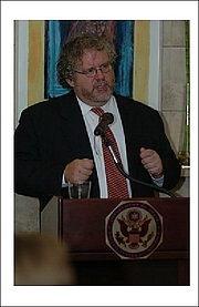 Foto do autor. Embassy of the U.S./Israel (Distinguished American Speaker Series)
