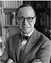 Forfatter foto. Arthur M Schlesinger was advisor to JFK and famous historian and political scientist