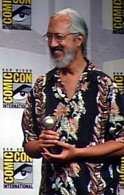 Kirjailijan kuva. Eisner Awards, San Diego Comic-Con 2007, photo by Lampbane