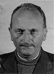 Forfatter foto. Hermann Joseph Giskes, 1945