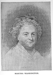 Foto do autor. Martha Dandridge Washington (1732-1802), Buffalo Electrotype and Engraving Co., Buffalo, N.Y.