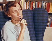 Foto do autor. Astrid Lindgren, ca. 1960 [source: Astrids bilder; author: unknown]