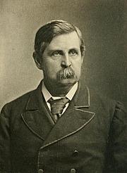 Kirjailijan kuva. Image from <b><i>Collected poems</i></b> (1897) by Austin Dobson