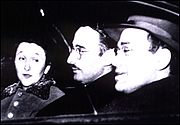 Författarporträtt. Morton Sobell (right) with Julius and Ethel Rosenberg (newyork.fbi.gov)