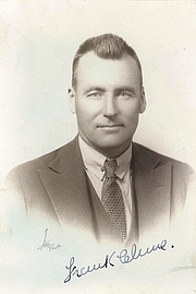 Författarporträtt. Francis Patrick Clune (1893-1971), by unknown photographer, 1930-33. Photo from the State Library of New South Wales.