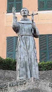 Foto do autor. Statue of St. Leonard of Port Maurice, Imperia, Italy. Photo by user Jk4u59 / Wikimedia Commons.