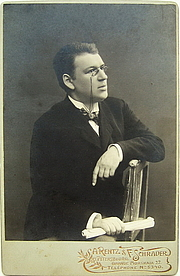 Fotografia de autor. Vlas Doroshevich, circa 1900.