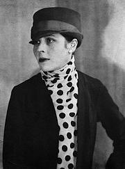 Författarporträtt. Djuna Barnes, ca. 1921 [author is unknown; grabbed from Wikipedia]