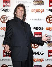 Författarporträtt. Steve Hackett at the Progressive Music Awards in 2014 [credit: Danny E. Martindale/Getty Images Europe]