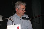 Kirjailijan kuva. Justus Nussbaum