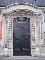 Författarporträtt. Musée des Tissus et des Arts Décoratifs, Lyon