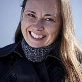 Författarporträtt. Yrsa Sigurðardóttir foto by Atli Mar Hafsteinsson