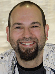 Foto do autor. Barry Lyga at the 2011 Texas Book Festival<br>Photo: Larry D. Moore