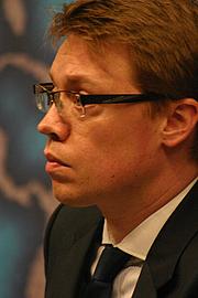 Författarporträtt. Alex Evans. Photo courtesy Chatham House.