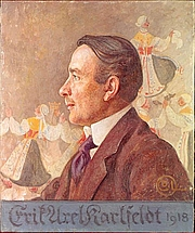 Photo de l'auteur(-trice). Portrait by Carl Larsson (1918)