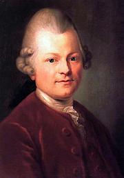 Foto do autor. Anton Graff (1771)