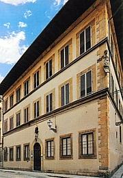 Author photo. Casa Buonarroti, Firenze