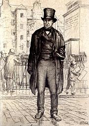 Foto del autor. Frontispiece of the book, The Book-Hunter, by John Holl Burton,  1882 edition