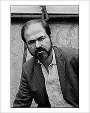 "Kirjailijan kuva. Alberto Ibáñez ""El Negro"""